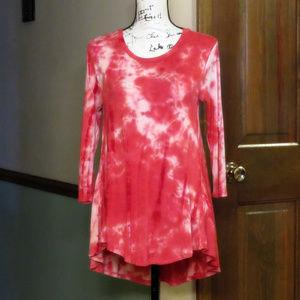 OLIVIA SKY Tie Dye Tunic Top - Size S